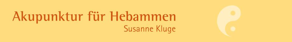 Akupunktur für Hebammen Susanne Kluge